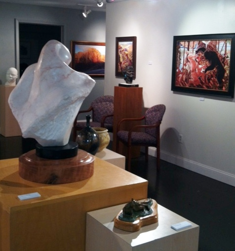 Ober Anderson Gallery in St. Louis, Missouri. Read how artists and galleries can partner at www.ArtsyShark.com