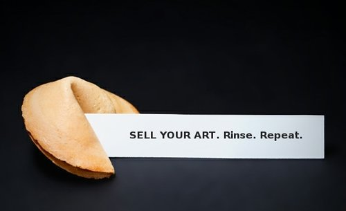 Sell Your Art. Rinse. Repeat.